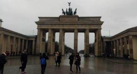 صور.. تعرف على بوابة براندنبورج أشهر المعالم السياحية فى ألمانيا