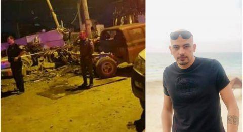 الطيبة: مصرع بهاء شيخ علي مصاروة،(22 عاما)، واصابة صديقه  في حادث طرق دامي
