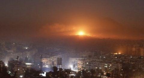 الدفاعات الجوية السورية تتصدى لقصف اسرائيلي