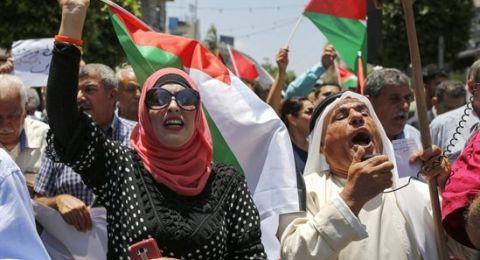فصائل ومواطنون يخرجون رفضا لورشة البحرين وصفقة القرن