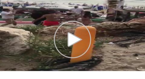 شاهد حلقة اليوم من شجارات الشواطئ كانت في بات يام