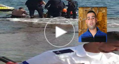 مصرع صبحي شناوي (30 عاماً) بعد تعرّضه للغرق على شاطئ عكا