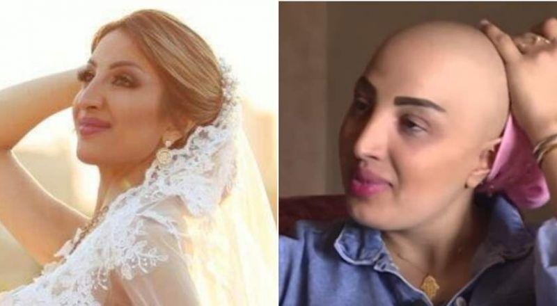 معركة غير اعتيادية لملاك.. عروس تتحدّى السرطان (فيديو)