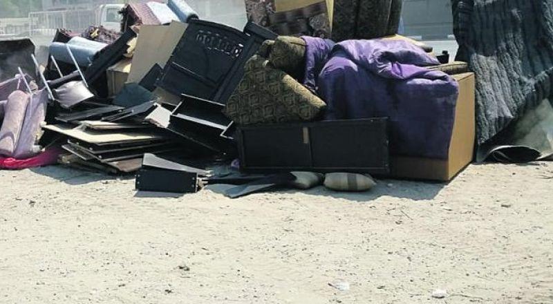 بلدية الناصرة للمواطنين: نرجو الامتناع عن رمي الاثاث القديم بجانب حاويات القمامة
