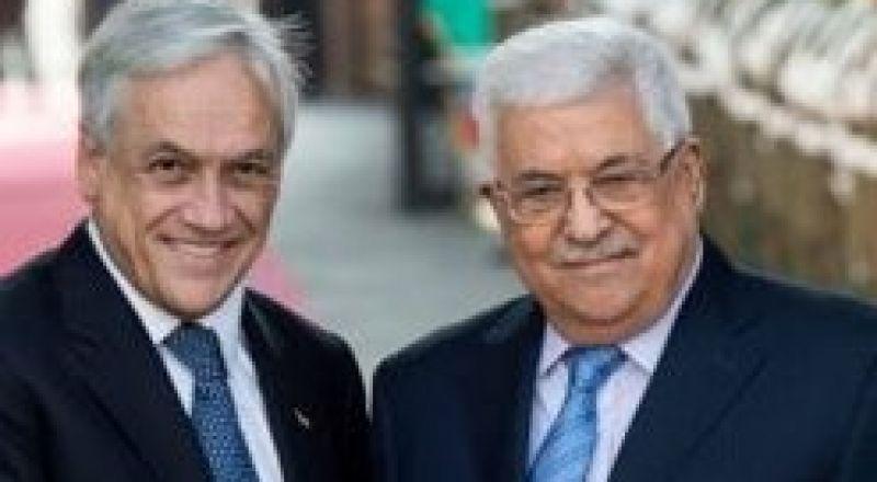 رئيس تشيلي يزور فلسطين واسرائيل