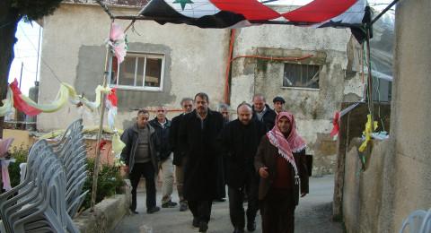 تحية اكبار واجلال لأهل الجولان السوري المُحتل على تمسكهم , موحدين , بالوطن والوطنية