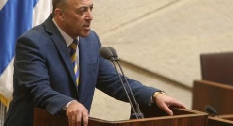 النائب أكرم حسون لرئيس الكنيست: