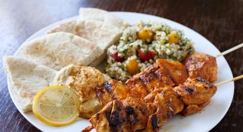 تتبيلة الشيش طاووق بالزبادي من مطبخ