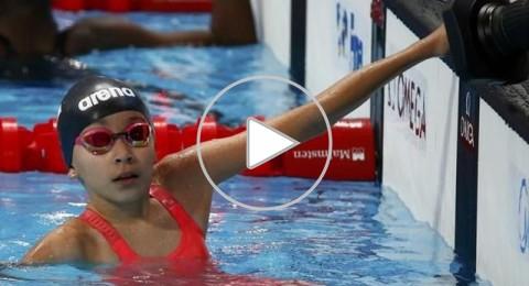 السباحة البحرينية الطفلة الزين طارق تثير جدلا واسعا حول السن القانوني للاعبين