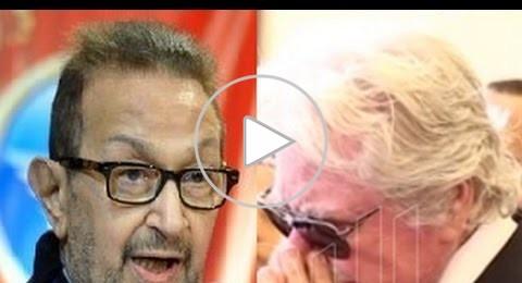 فيديو: حسين فهمي يشرح سبب غيابه عن جنازة نور الشريف وينفجر بالبكاء