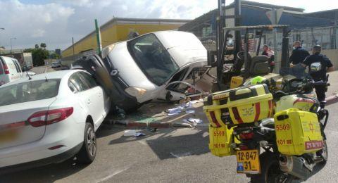 4 إصابات بحادث طرق مروع قرب اشدود