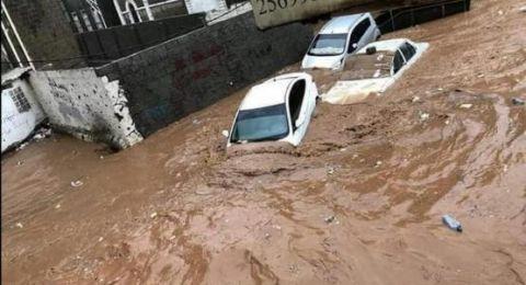 اليمن: وفاة أكثر من 170 شخصًا جراء الأمطار الغزيرة والسيول