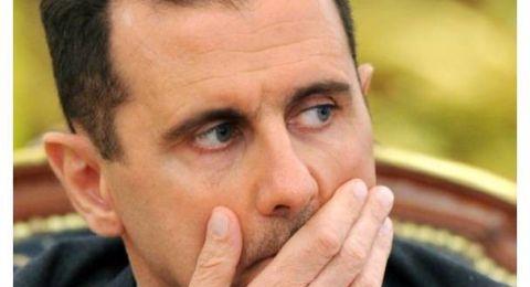 بشار الأسد يتعرض لأزمة صحية خلال إلقاء كلمة