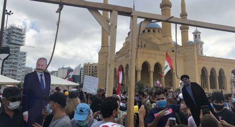 جنبلاط: أطالب بتعليق المشانق لوزراء الحكومة
