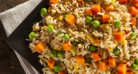 الأرز بالبازيلاء على الطريقة السورية