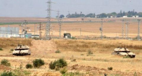 إطلاق نار يستهدف عمال بناء الجدار في (كيسوفيم) والجيش يرد