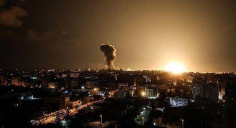 انفجار ضخم يهز مدينة غزة والطيران الإسرائيلي يقصف مواقع للمقاومة