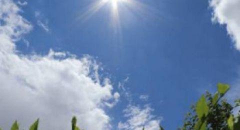 حالة الطقس:ارتفاع طفيف على درجات الحرارة