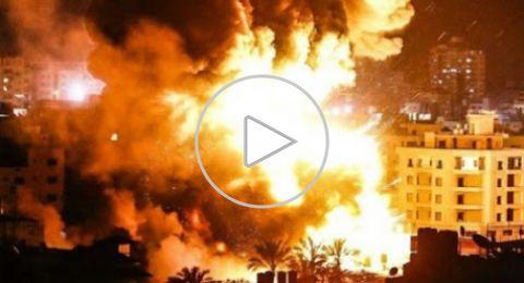 غارات إسرائيلية على قطاع غزة تستهدف مواقع لحركة حماس