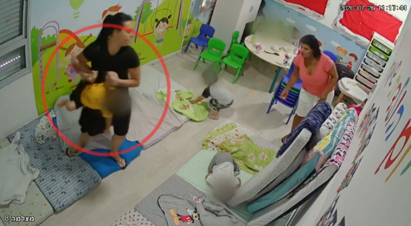 قضية حضانة الإجرام في الرملة: المحكمة تسمح بنشر فيديو يوثق تعنيف المربيات للأطفال