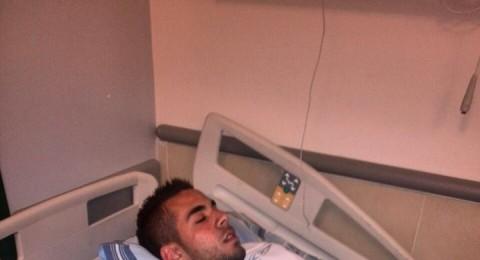 الشاب جبر علاء الدين من كفر قرع يتحدث عن الاعتداء عليه على حاجز عناب