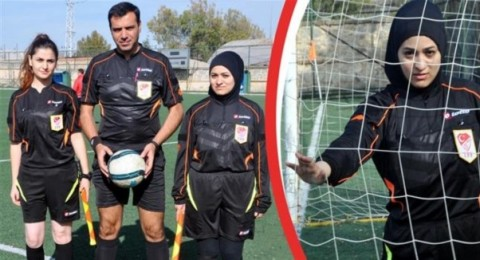 أول حكمة تركية ترتدي الحجاب