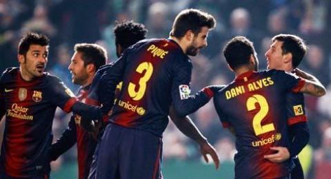 كأس اسبانيا : الريال يسقط امام فيغو وبرشلونة يفوز على قرطبة