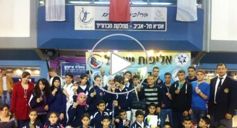 رابطة الكراتية تشارك في بطولة البلاد في جامعة تل أبيب