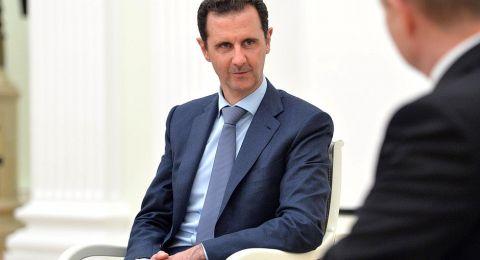 بشار الأسد: نستطيع انهاء الحرب خلال اشهر إذا..