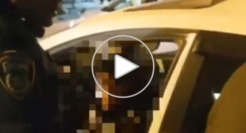 بالفيديو: ضبط طفل (10 سنوات) يقود سيارة بالنقب