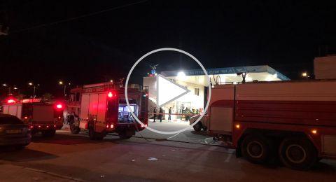انفجار داخل محطة وقود في عرعرة النقب