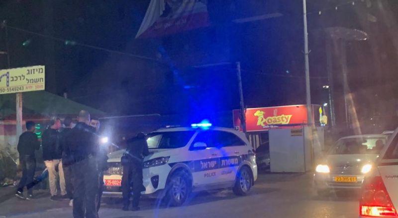 كفر قرع: اصابة شخص بجريمة إطلاق نار