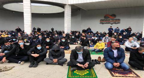صلاة جمعة موحدة وبعدها مسيرة غاضبة ضد العنف في أم الفحم