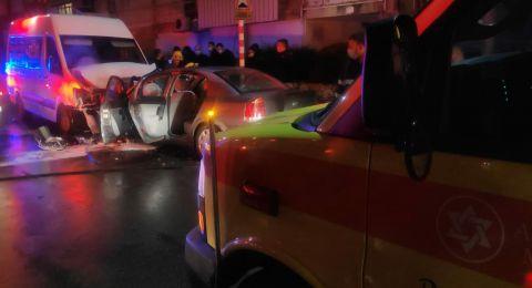 مصرع شاب وإصابة آخر بحادث في كريات موتسكن قرب حيفا