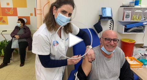 معليا- اقبال واسع على التطعيم في صندوق المرضى مئوحيدت
