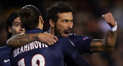 باريس سا جيرمان يفوز على فالنسيا (2-1)