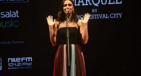فايا يونان تشعل حفلها بمسرح «ذا ماركيه» بالقاهرة