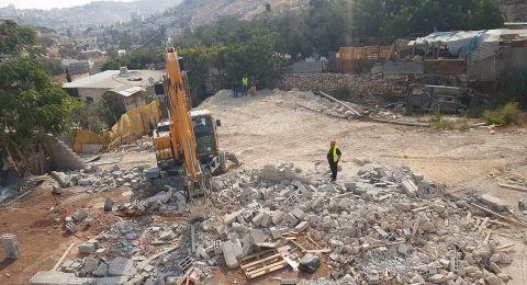 تصاعد هدم منازل الفلسطينيين بحجة عدم الترخيص