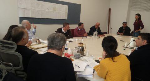 لجنة البناء والتنظيم تجتمع و تباشر عملها