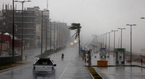 حالة الطقس: امطار غزيرة ومصحوبة بعواصف رعدية