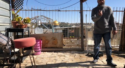 القدس: امهال عائلة أبو عصب حتى 28 من الشهر الجاري لإخلاء منزلها