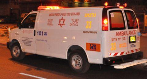 اصابة شاب عربي من منطقة الناصرة بعيار ناري من الشرطة