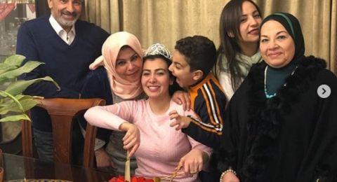 أول ظهور لميرهان حسين بعد خروجها من السجن