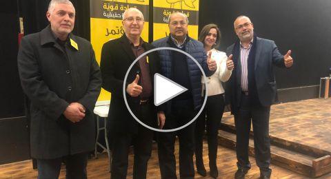 مرشحو العربيّة للتغيير : الطيبي، السعدي، سندس صالح،وائل يونس و خالد حسونة