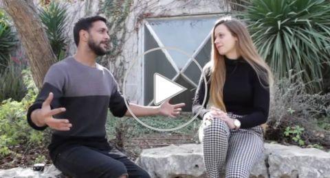 طلاب الجامعة العبرية قاعدين ع بنك.. ماذا قالوا؟