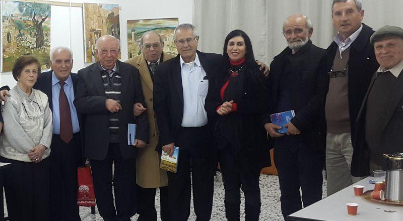 أمسيةٌ أدبيّةٌ قرمانيّة في الناصرة!