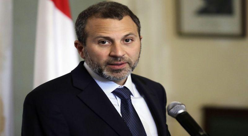 باسيل: ظريف أكد دعم بلاده للبنان في مسألة عودة اللاجئين السوريين إلى بلادهم