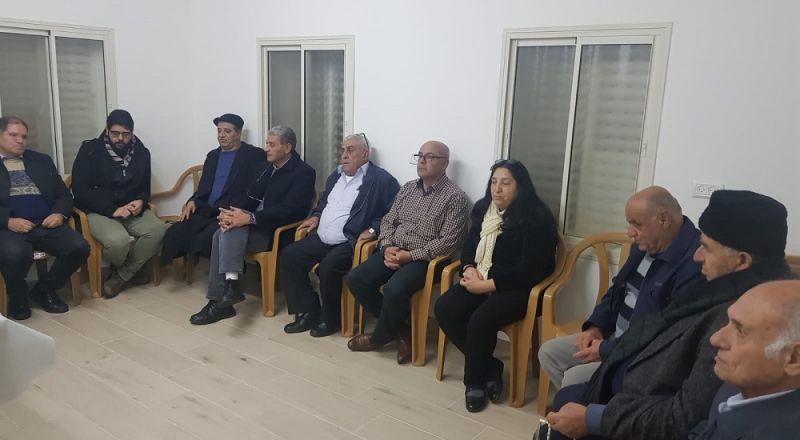اجتماع انتخابي مشترك للجنة المبادرة العربية الدرزية وجبهة المغار الديمقراطية