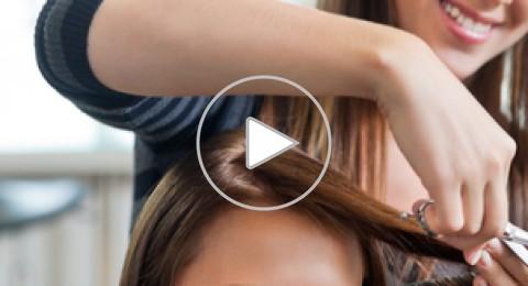 بالفيديو: طريقة قص الشعر خطوة بخطوة