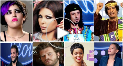 خمسة من أشباه المشاهير في arab idol